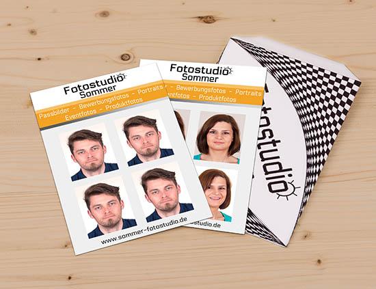 Passbilder biometrsich Oldenburg Fotostudio Sommer